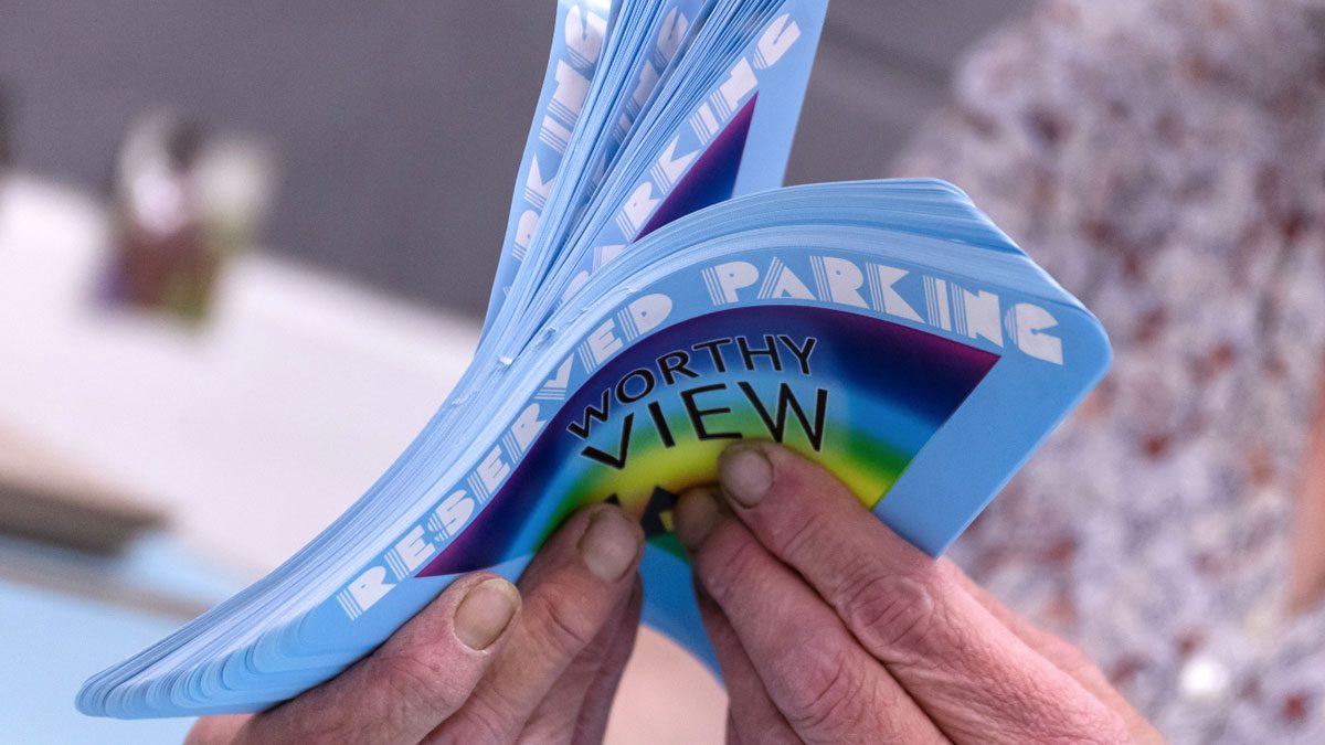 Car Park Permit Printing